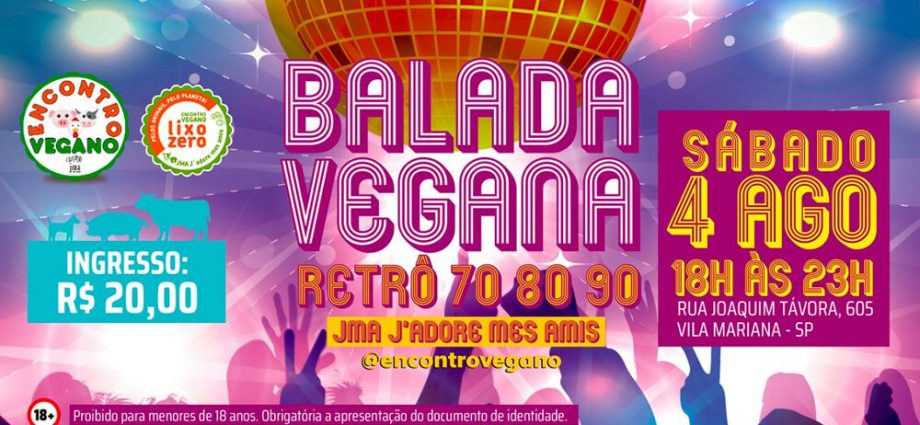balada vegana retro 2018