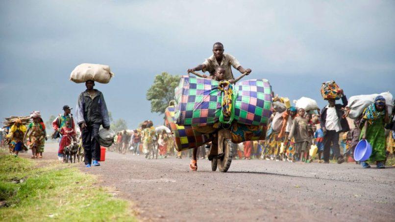 Refugiados: deslocamento na república democratica do congo