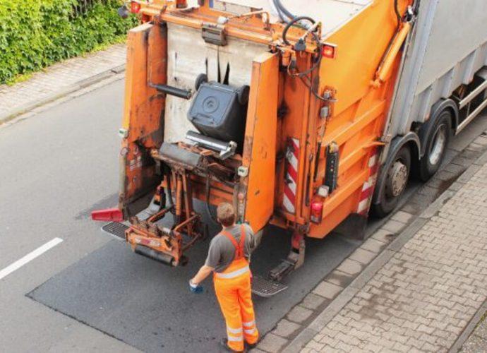 Descarte de lixo