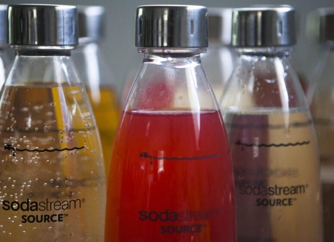 pepsico sodastream plastico
