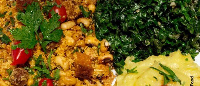 comida brechó vegano
