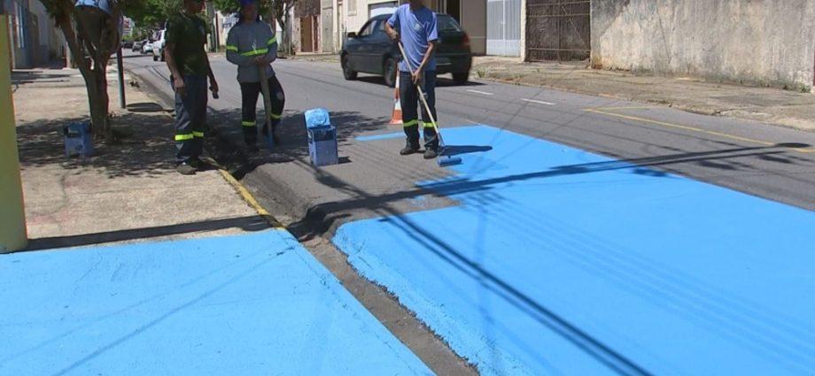 tiete asfalto azul