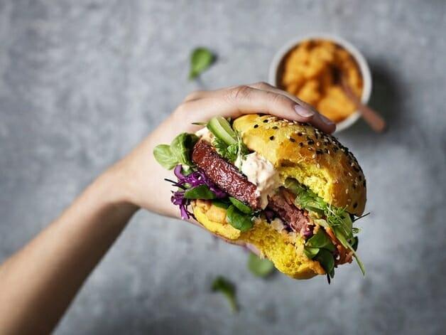 hambúrguer vegano da Nestlé